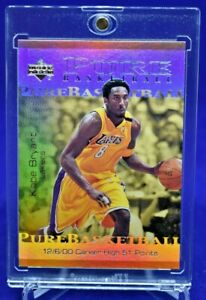 KOBE-BRYANT-UPPER-DECK-PURE-BASKETBALL-REFRACTOR-W-JORDAN-LOS-ANGELES-LAKERS
