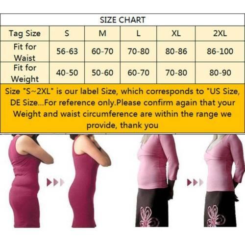 Damen Bauchkontrolle Mieder-Bodys Abnehmen Shapewear Bodysuit Korsett Cincher DE
