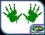 Zombie Hands Blood Walking Dead B2 Vinyl Sticker Halloween Wall Window Decal