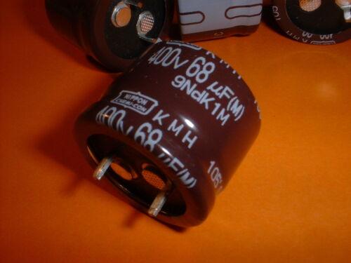 4x Elko 68µf//400v 105 ° C 25x20mm rm10mm SNAP-en