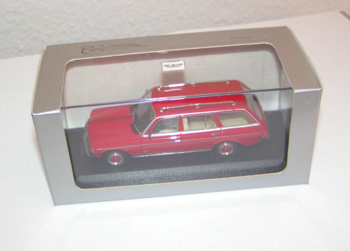 Mercedes-benz W 123 T-modelo 200 T rojo  rojo -Minichamps 1 43