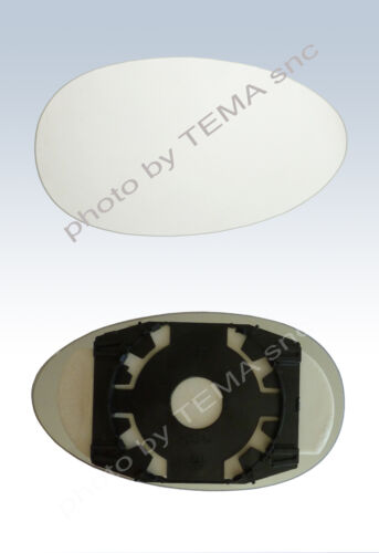 Specchio retrovisore ROVER MG 75 1999/>2004 //ZT 2003/> piastra vetro destro 157x89