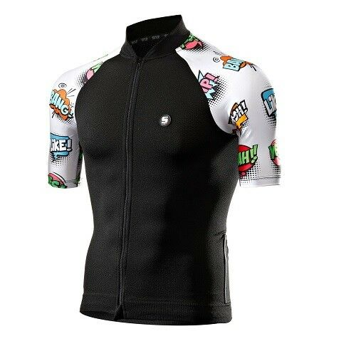 Maglia Maglietta Jersey T-shirt Bike Bici Ciclismo SIXS  FANCY JERSEY COMIC
