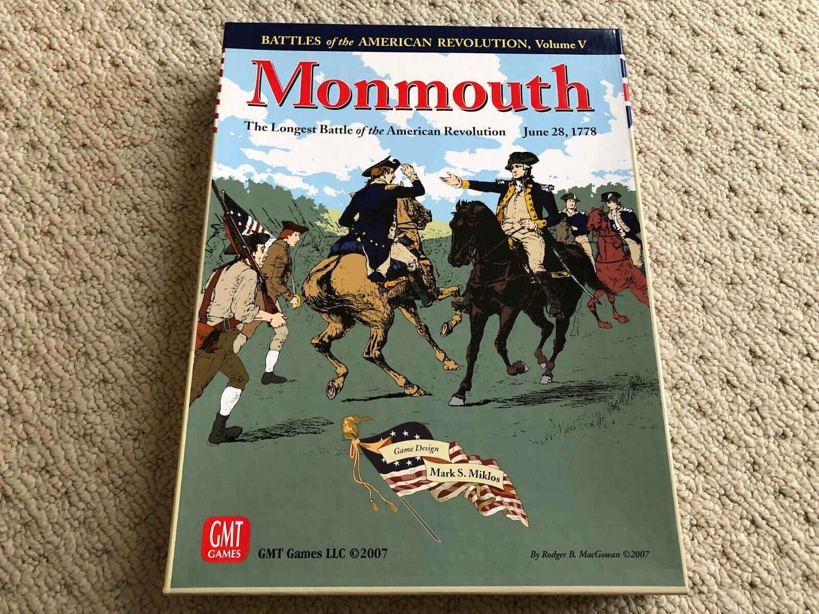 Monmouth, den längsta striden av den amerikanska revolutionen GMT spel 2007.