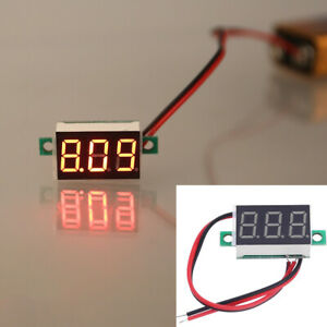 0-36-034-Digital-Voltmeter-DC-4-5-30V-2-Wires-Red-LED-Display-Panel-Voltage-Meter