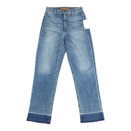 Crop Straight Yenz Jeans Undone Joes Donna The Jane 25 Taglia Hem High Rise 0Yqdvd