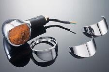 TurnSignal Visor Set (Plain)-Honda see inside-Highway Hawk-Motorcycle-661-052