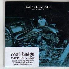 (CG842) Hanni El Khatib, Dead Wrong - 2011 DJ CD