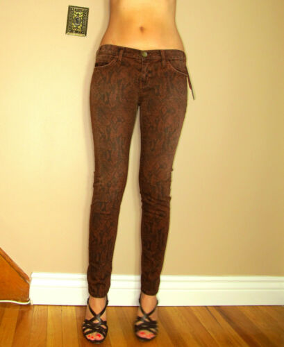 Skinny Impression Terra Current Cannelle Cheville Animal Jean Elliott Python wqSqaTxB