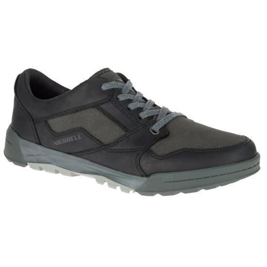 Merrell Berner Cambio De Encaje EE. UU. 9.5 Cuero Zapatos Atléticos Sendero Senderismo Nuevo Para Hombre