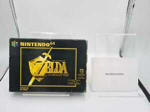 Nintendo 64 N64 The Legend of Zelda: Ocarina of Time mit Ovp und Anleitung FAH