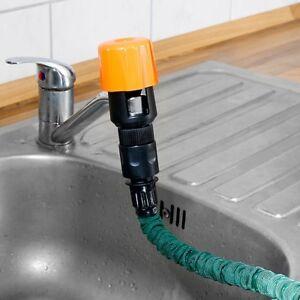 Universal-Wasserhahn-Adapter-Schlauchadapter-zum-Anschluss-von-Gartenschlaeuchen