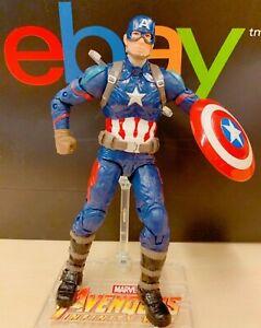US-SELLER-New-w-Box-Marvel-Avengers-Captain-America-Action-Figure-Toy