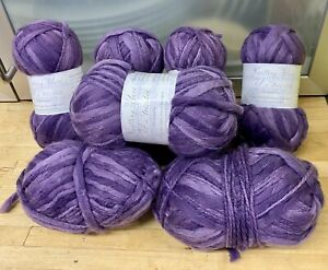 Knitting-Yarn-Wool-340g-Purples-Thick-amp-Thin-Spinning-DK-Crafts-Spinning-5H