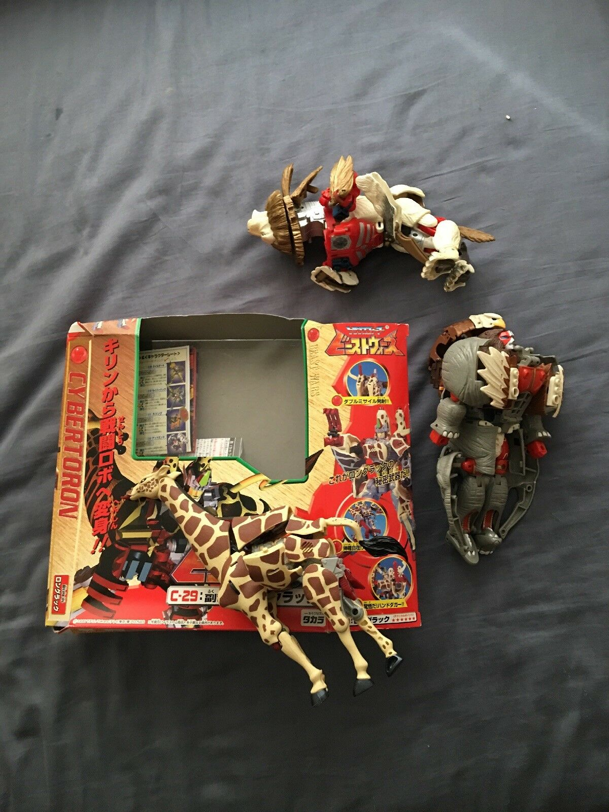 Transformers beast wars II 2 magnaboss Japan Neo Longrack Lio Convoy Lot