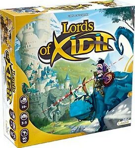 Lords Of Xidit, Jeu de plateau Asterion, Nouveau, Italien