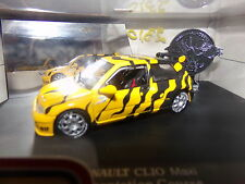 voiture miniature 1/43     UH  RENAULT CLIO MAXI PRESENTATION COURSE