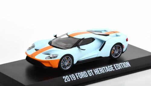 1:43 Greenlight Ford GT Heritage Edition 2019 Gulf
