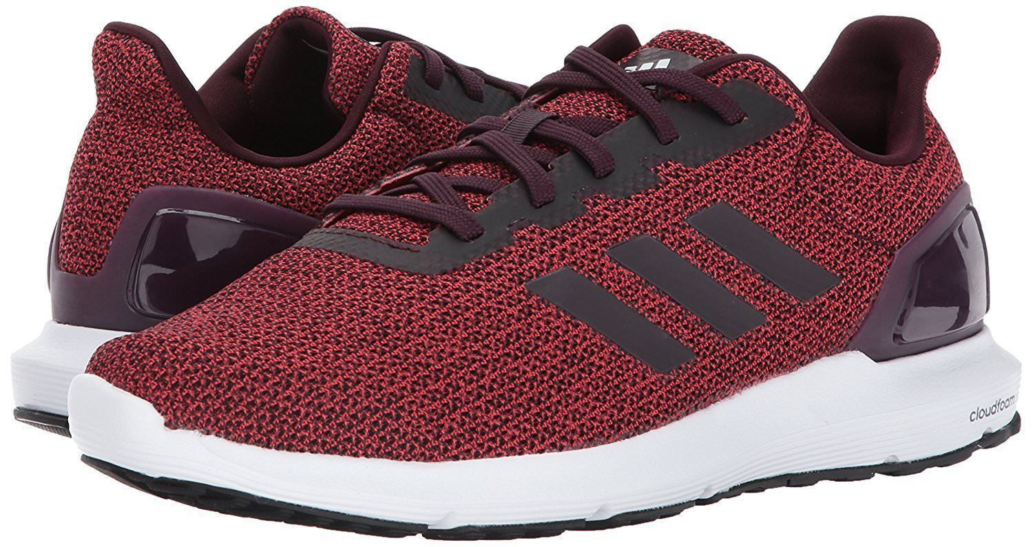 ADIDAS COSMIC 2 SL LOW RUNNING SNEAKERS MEN SHOES RED WHITE CQ1712 SIZE 10 NEW
