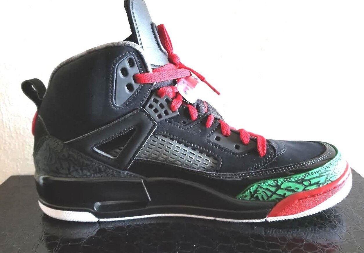 Nike Air Jordan Spizike Black Green White Red OG color 315371-026