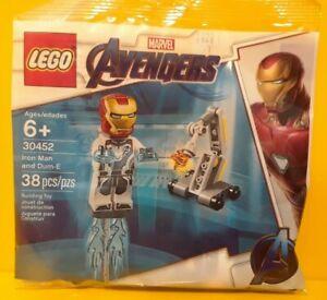 LEGO-30452-Ironman-And-Dum-E-polybag-NEW-RARE-Marvel-Avengers-Endgame-SPECIAL