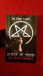 Theistic-Satanic-Devil-Worshipping-Book-Temple-of-Satan-The-Devil-039-s-Disciples