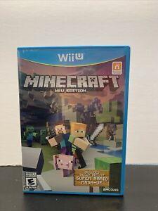 Minecraft Wii U Edition (Nintendo Wii U, 2015) Complete w/Manual - TESTED