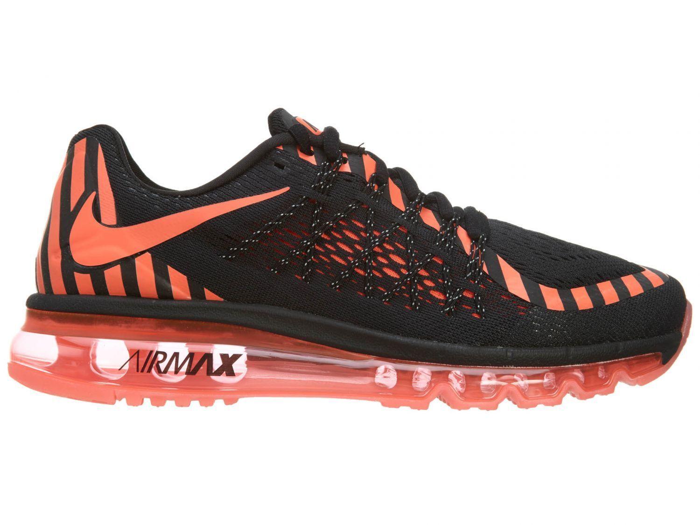 Nike Air Max 2018 NR683-011 Black Lava Mesh Running Shoes Comfortable