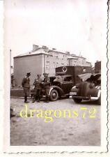 Foto Polen Siedlce 41 Kfz Sani Fahrzeuge+Kennung+Offiziere+mehr  orig