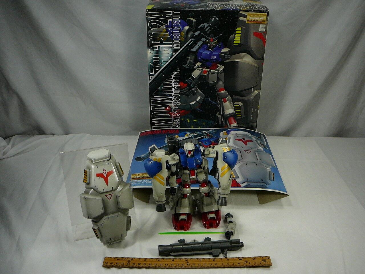 Bandai Gundam GP02A projootipo táctico Suit 1998 Raro Retro propiedad de empleados