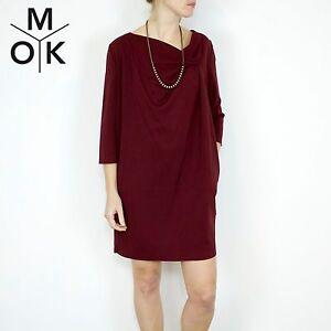 COS-Kleid-neu-bordaux-36-S-Vintage-Business-Dress-Trend-Design-Damen-1564