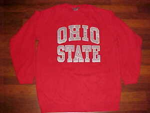 Ouray-Sportswear-NCAA-Big-Ten-Ohio-State-Buckeyes-Men-Red-Fleece-Sweatshirt-XL