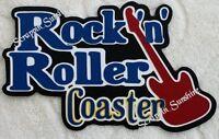 Disney Rockin Roller Coaster Premade Scrapbook Pages W