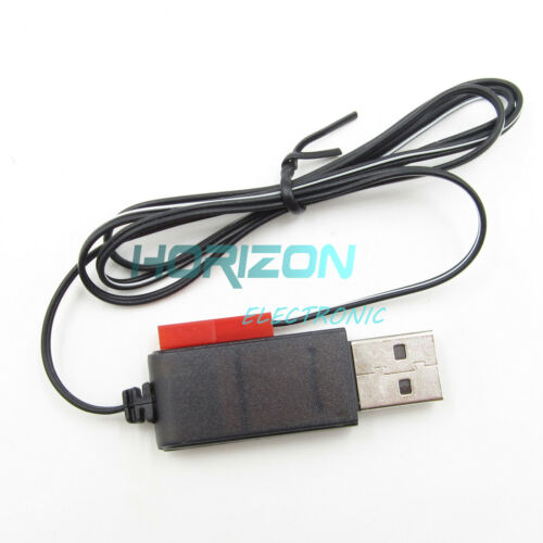 5PCS Output 1S Lipo Lithium Battery USB Cable Charger JST Female Head 3.7V500mA