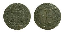 pcc1484_7) SVIZZERA Swiss - CANTON NEUCHATEL 1 Batzen 1791 Neuchâtel