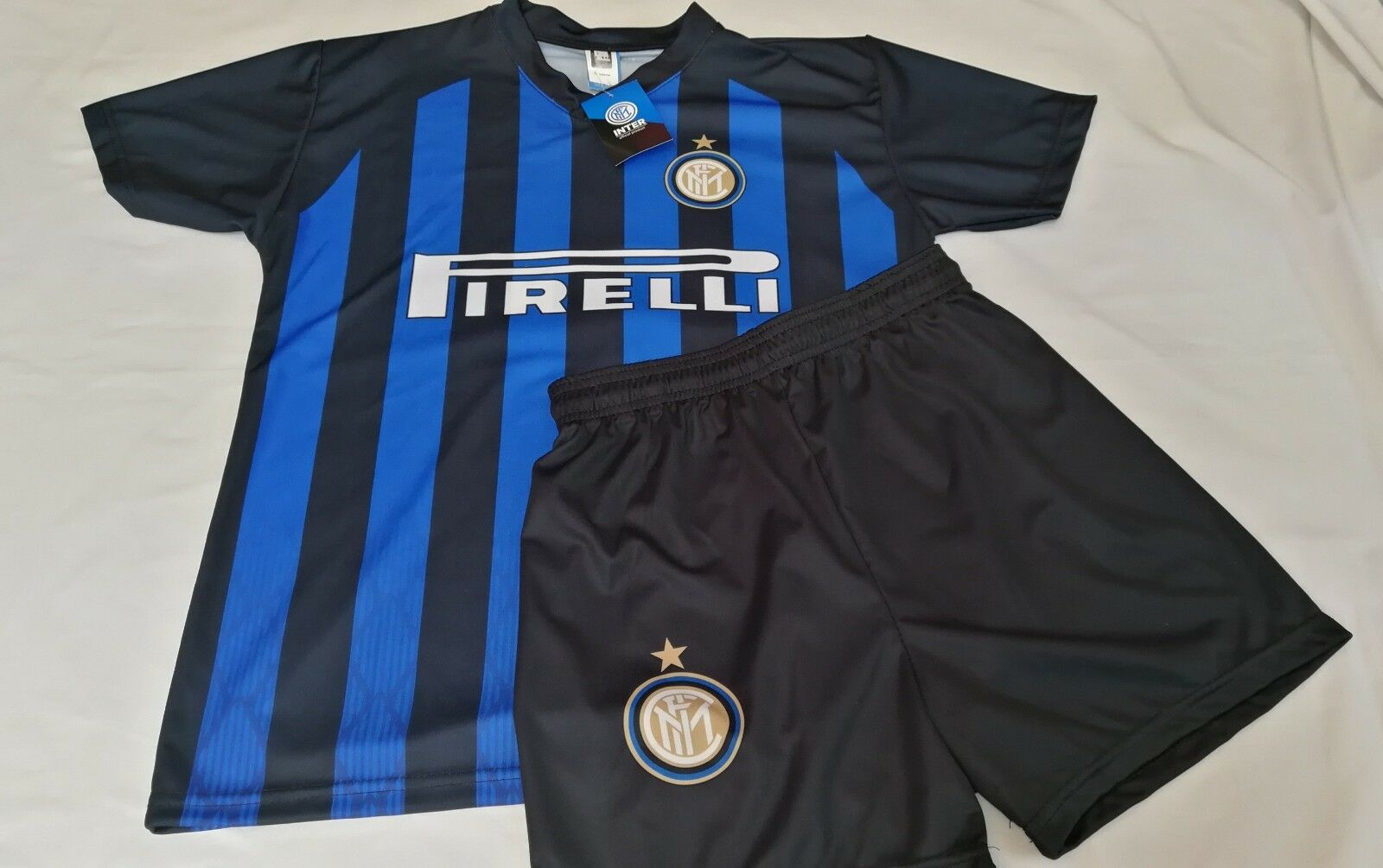 Full 2019 Taille 4 years without name FC Inter 2018 19 Shirt courtes 3