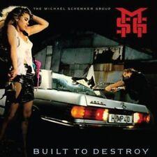 The Michael Schenker Group - Built to Destroy- New CD Album - Pre Order - 26/5