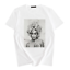 Fashion-Women-Ladies-Short-Sleeve-T-Shirt-Tops-Blouse-Heart-Printed-Casual-Tee miniatura 27