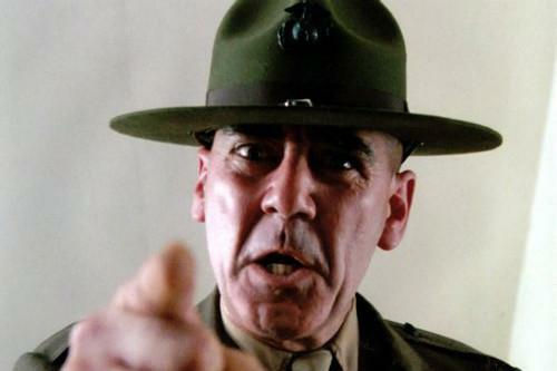 "R Lee Ermey Poster Full Metal Jacket Mini 11/""X17/"""