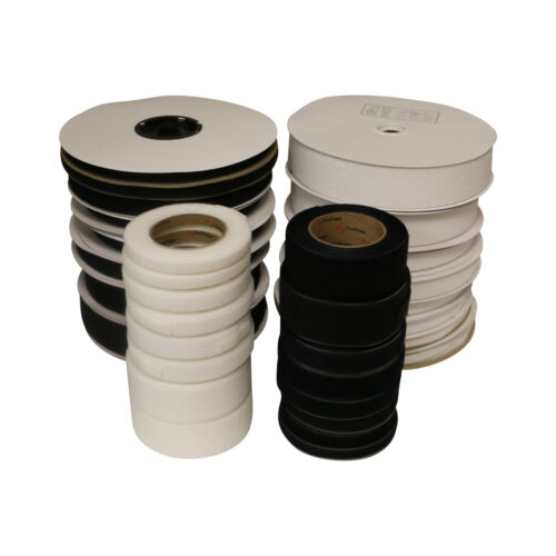 FindTape HL74-R Adhesive-Backed Hook-Side Only Roll Black 3//4 in x 75 ft.