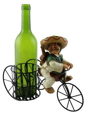 Bar Counter Decoration 11 x 9 Inches D Lady in Red Wine Bottle Holder