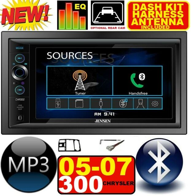 05 06 07 Chrysler 300 Altima Bluetooth Touchscreen Usb Sd Aux Car Radio Stereo