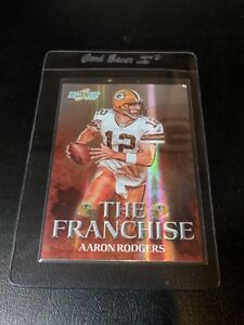 Image Is Loading 2008 Score The Franchise F 6 Aaron Rodgers