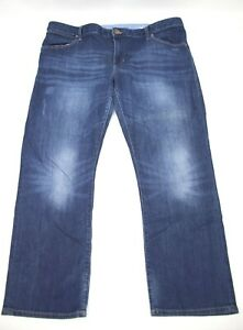 Gap-Womens-Jeans-Boyfriend-Size-16-Straight-Leg-Dark-Blue-Denim-28-Inseam