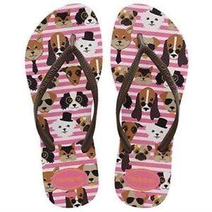 4075f2c36308b6 Details about Havaianas Slim Pets CF Shocking Pink
