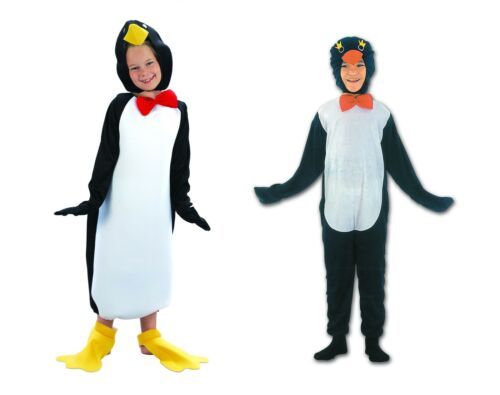 Penguin Child Fancy Dress Party Costume Comical All Sizes