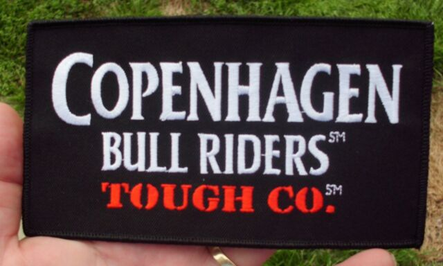 COPENHAGEN BULL RIDERS TOUGH CO. ARENA  PATCH