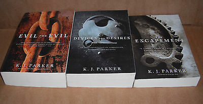 Engineer Trilogy by K. J. Parker Vol,1,2,3 Complete Set NEW
