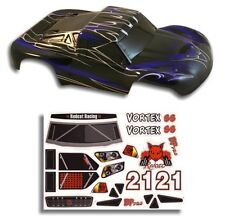 Redcat Racing 1/10 Short Course Truck Body Black and Blue Vortex  Part 55901