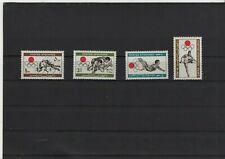Afghanistan  923 - 926 postfrisch, Olympische Sommerspiele in Tokio